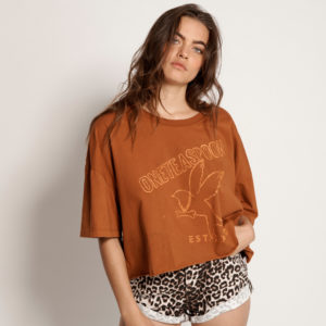 Bower Bird Crop Tee