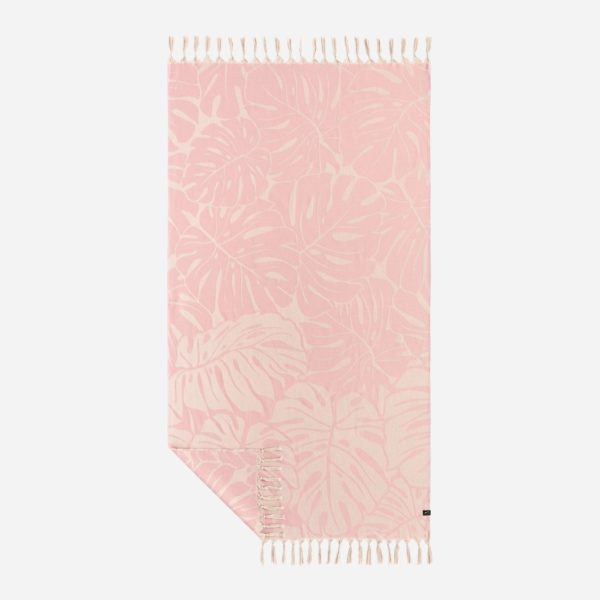 Tarovine Turkish Towel in Rose