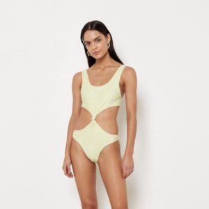 TULUM ONE PIECE (WHITE RIB)
